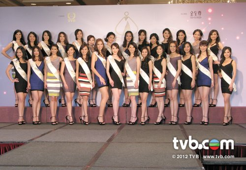 miss chinese international 2012 contestants delegates candidates