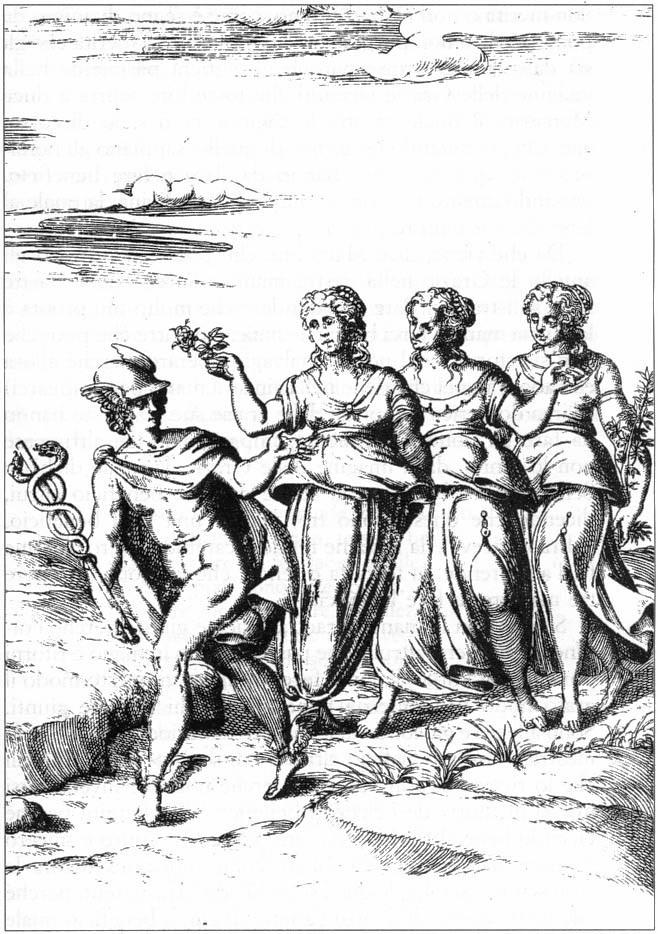 Hermes y Herse (primera)