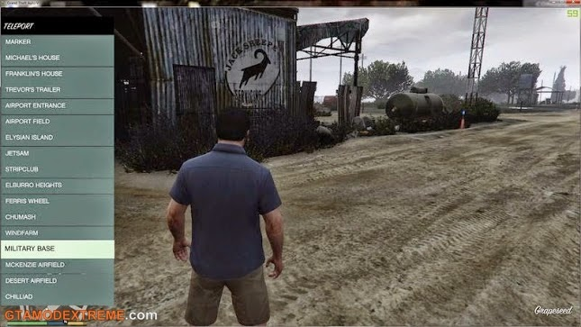 Baixar mod Native Trainer + ScriptHook + ASI Loader Para GTA V
