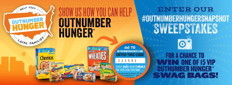 Help #Outnumberhunger