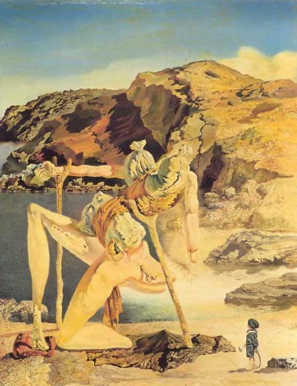 El Espectro del sex-appeal - Salvador Dalí 1934