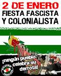 ¡NO A LA TOMA! ¡BASTA DE NACIONALISMO ESPAÑOL!