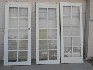3 French Doors  *SOLD*
