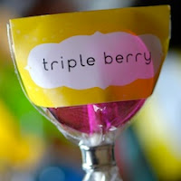 Triple Berry Lollipops