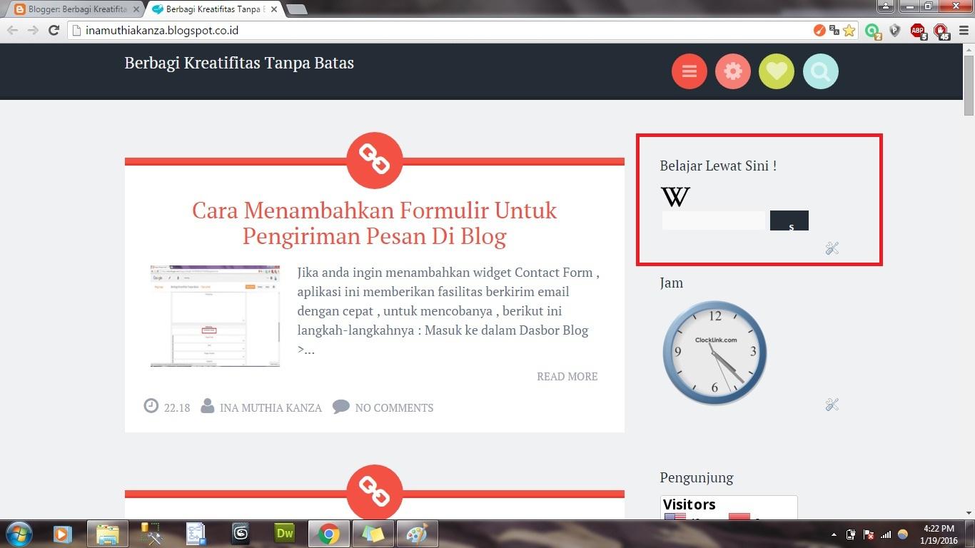 Cara Menambahkan Fasilitas Wikipedia Pada Blog ~ Berbagi ...