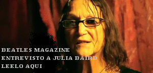 EXCLUSIVE INTERVIEW : JULIA BAIRD TALK WITH BEATLES MAGAZINE