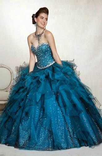 Magníficos vestidos de 15 años para fiestas | Moda 2014