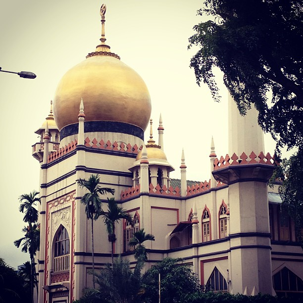 mosque by arab street, singapore