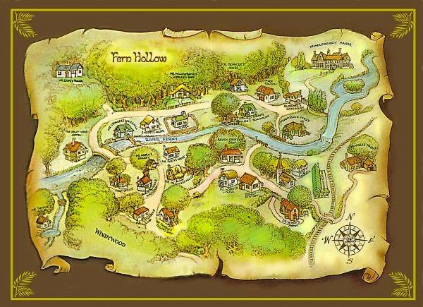 Сказки папоротникового леса
