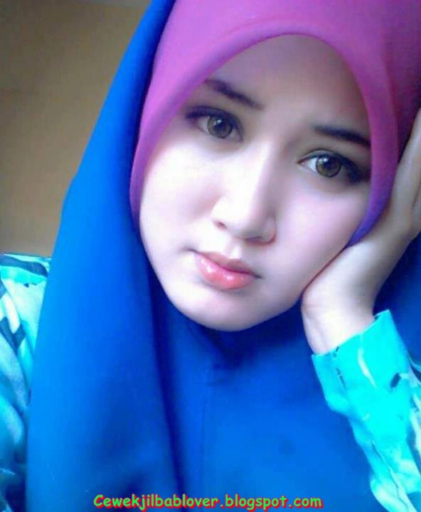 indonesian cute hijab girl pictures september 2013