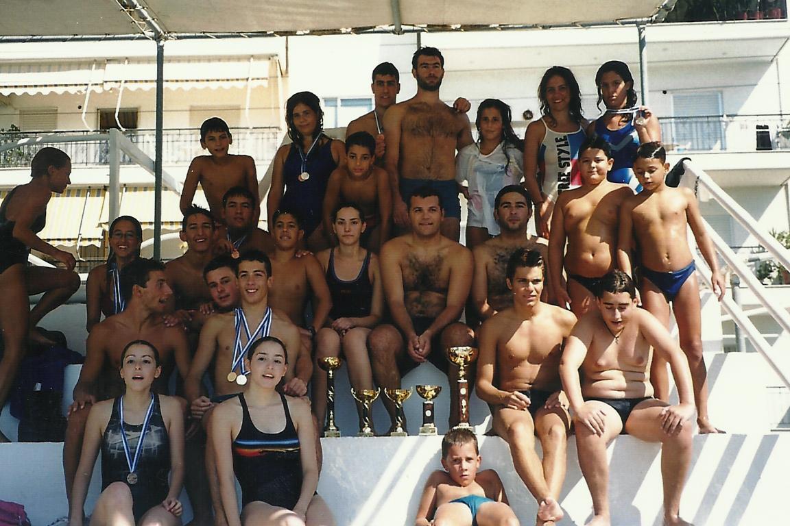 Πρωταθλητής Συλλόγων θάλασσας-Καλαμάτα 2001