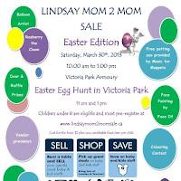 image Lindsay Easter Mom2Mom Sale poster 2013