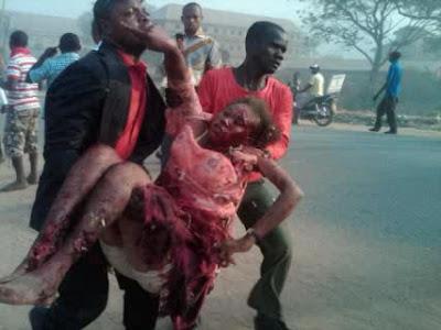 BREAKING NEWS- Bomb Blast At St Theresa's Catholic Abuja. 1