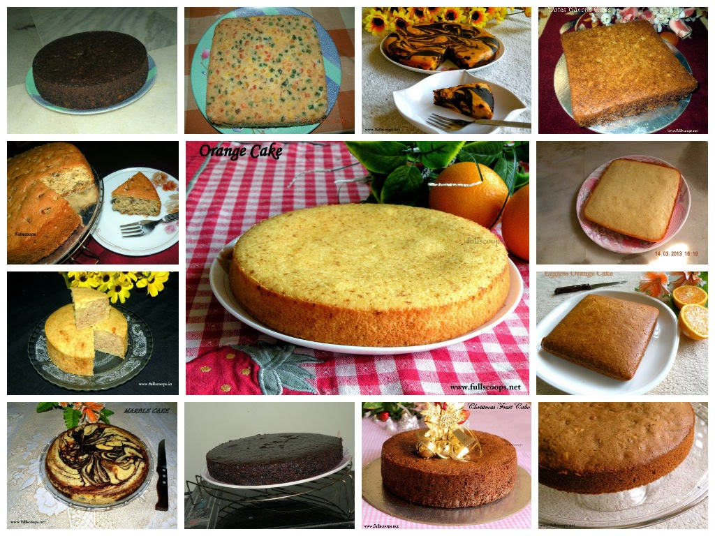 How to bake flat topped cake