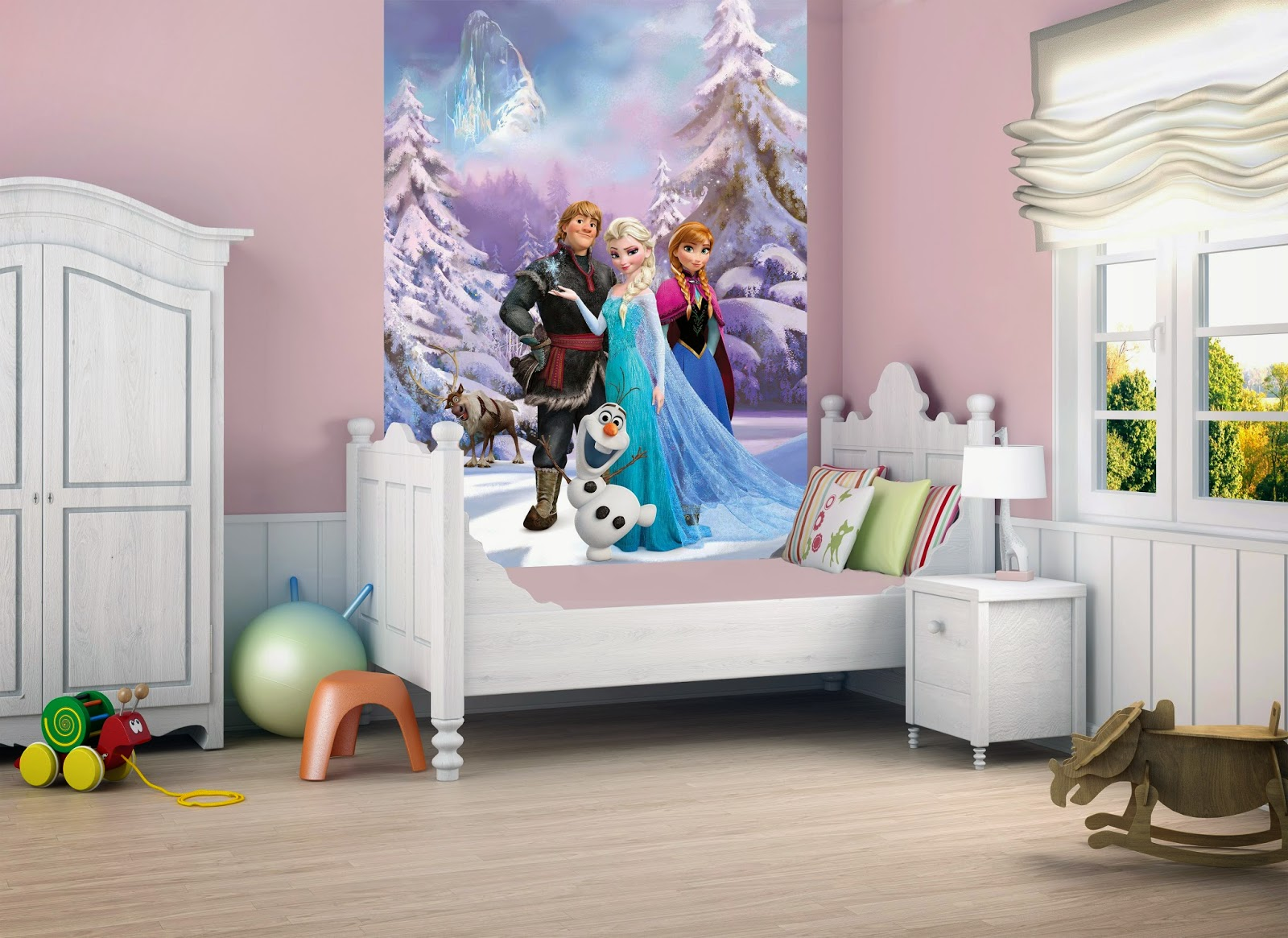 kamar tidur anak anak frozen | sobat interior rumah