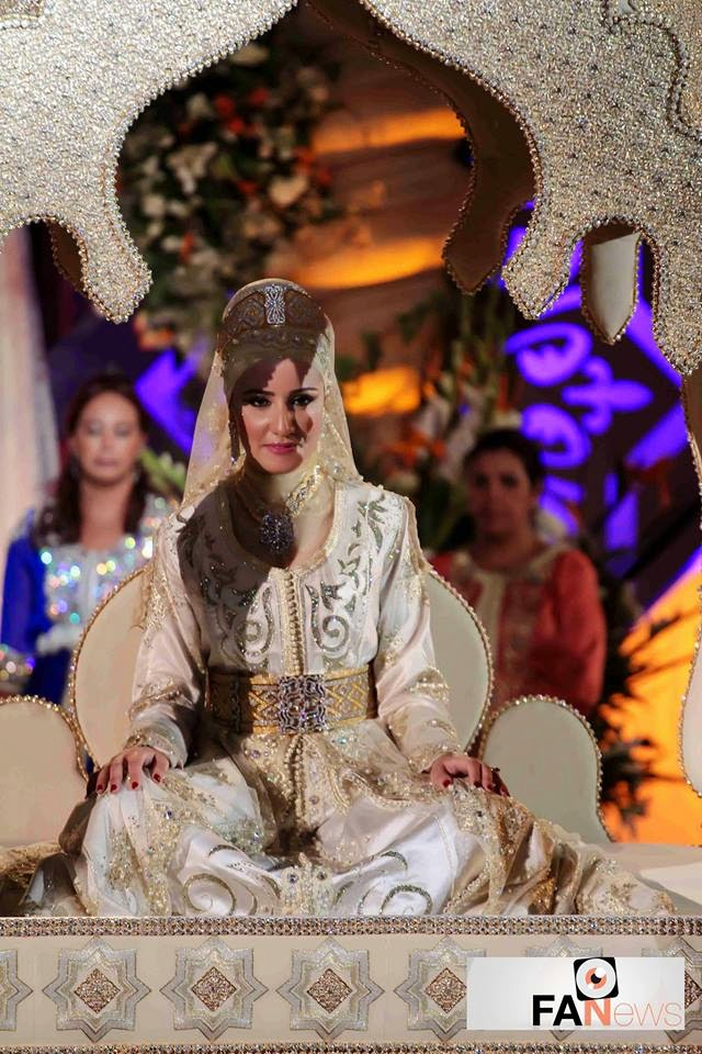 الصور الأولى من العرس الأسطوري لالة العروسة