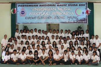 Pertemuan Nasional Kaum Muda SSV 2011