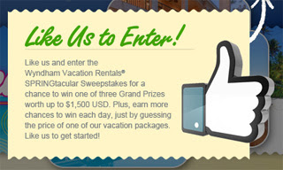 Enter to Win a Vacation Package from Wyndham Vacation Rentals