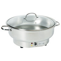 Chafing Dish Electric Rotund - vas incalzitor electric model rotund