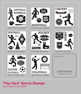 Sport Stamp Sets
