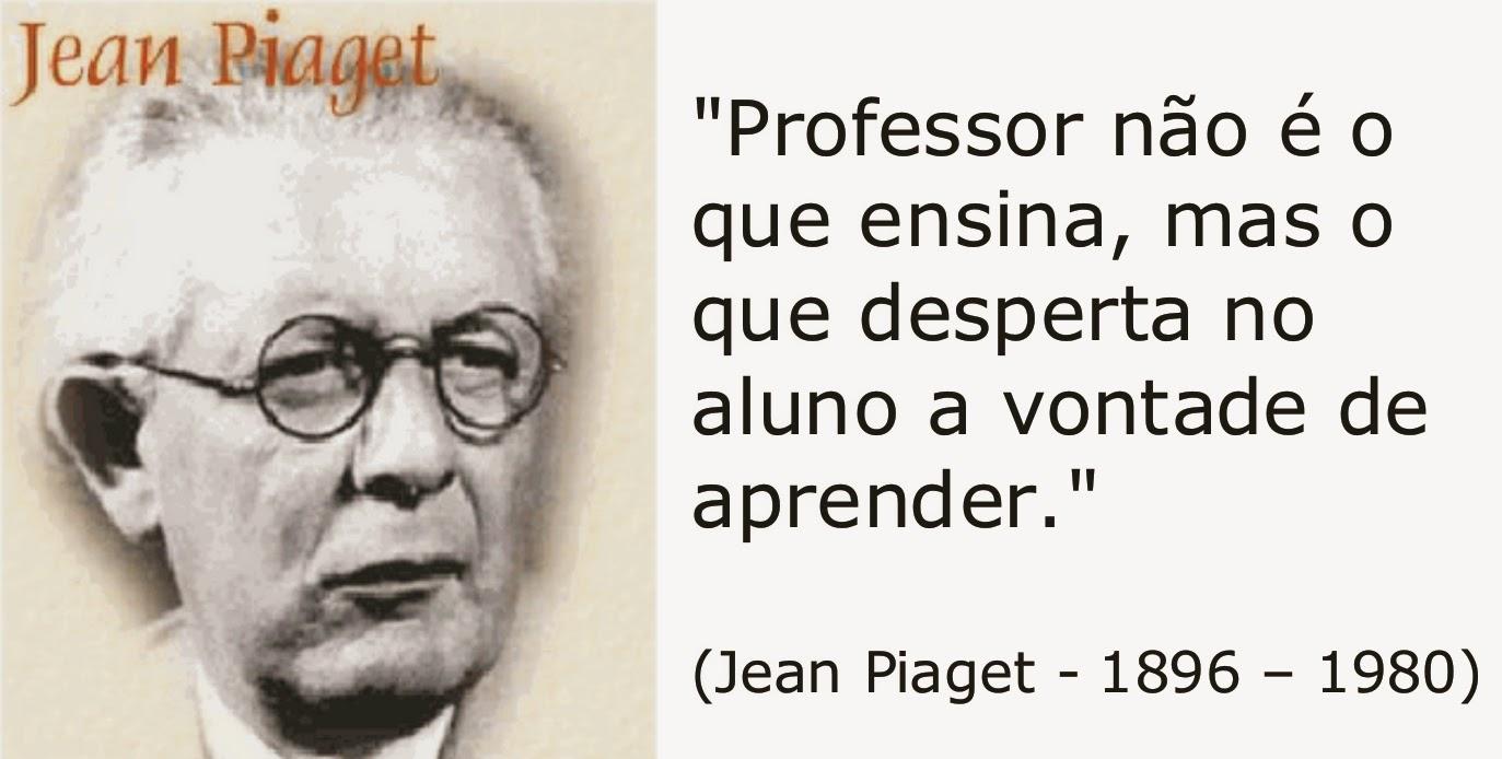Amado Central do Pedagogo: Piaget e o desenvolvimento cognitivo da  PA42