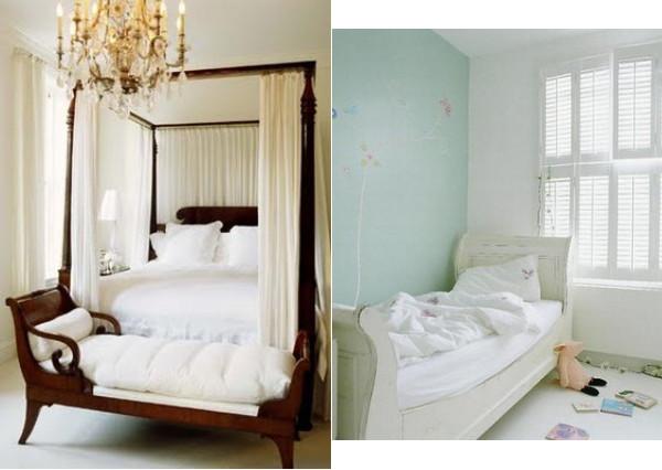 Wunderkammer inspiration ein biedermeier bett a biedermeier bed una cama barco biedermeier - Biedermeier wohnzimmer ...