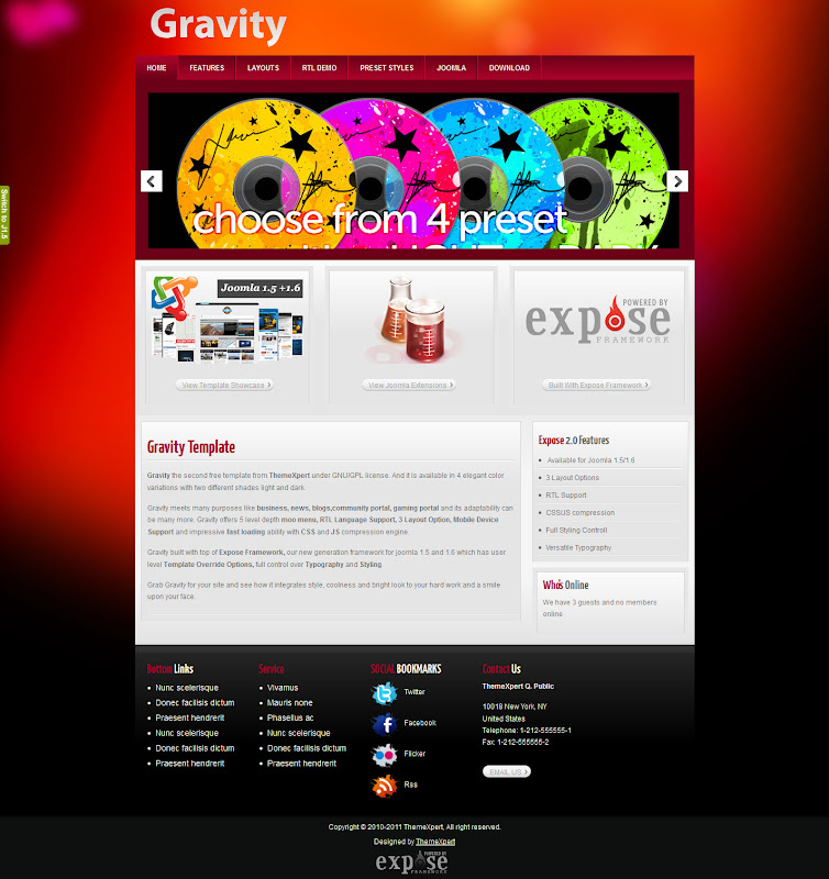 Gravity-Joomla-Template-Free-Download