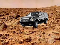SUV on Mars