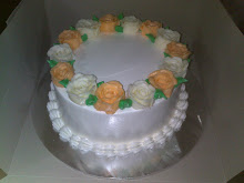 Buttercream Roses - Cake