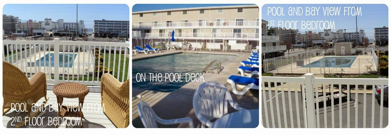 See the pool and bay at Ocean Colony 7 www.condoinoceancitymaryland.com