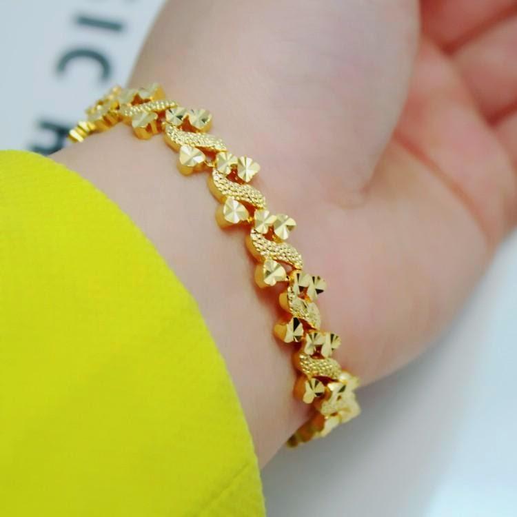 Bangles Jewellers: Benin Gold Jewelry Bangles And Bracelet 78