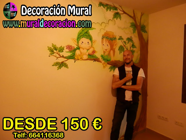 MURAL DUENDES MADRID