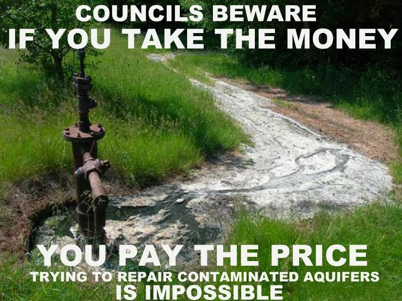 GREEDY COUNCILS...