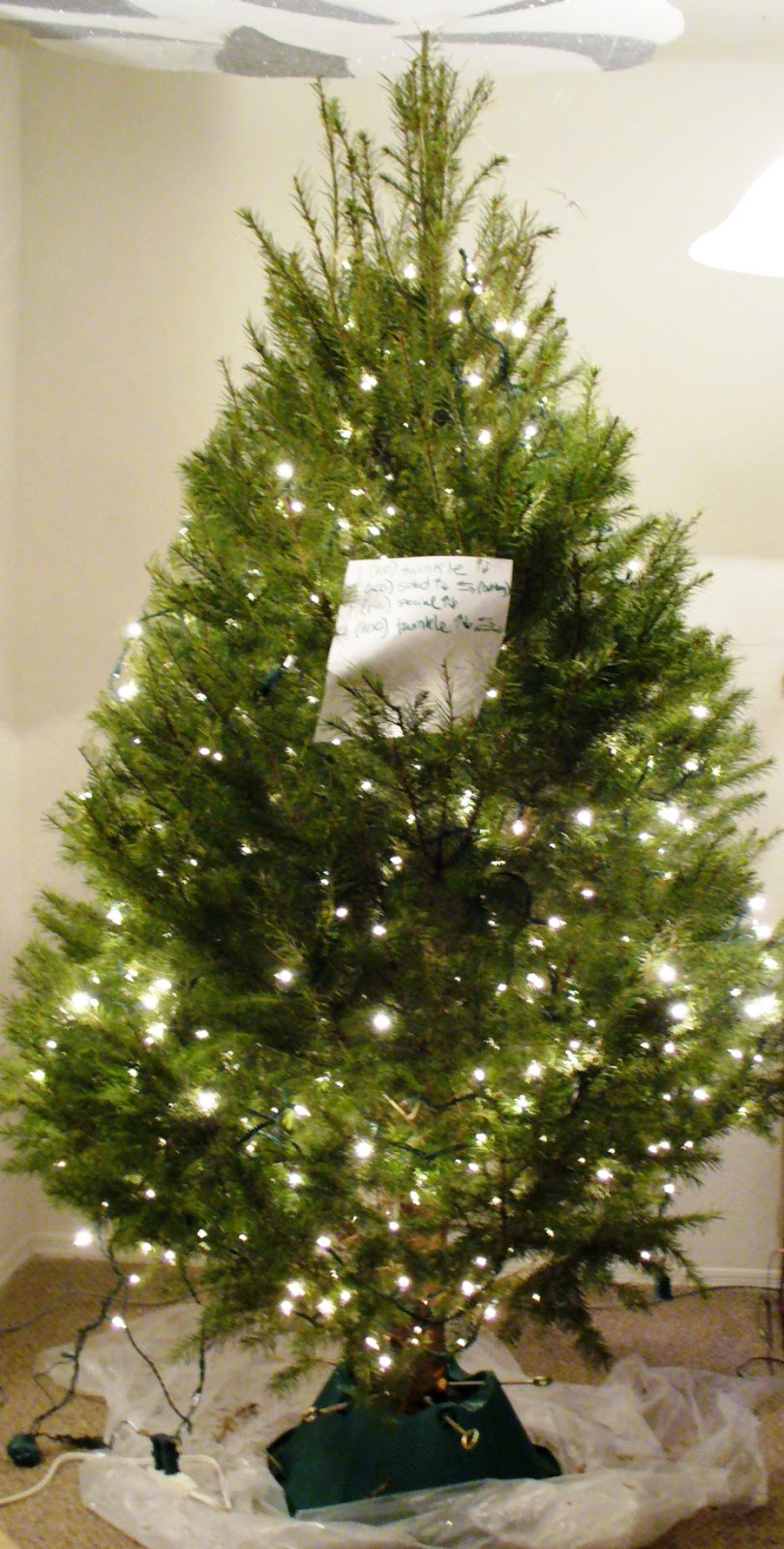 How to hang your christmas tree lights a sparkly life for me