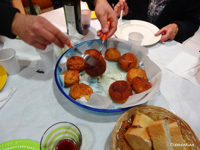 Dante alighieri perpignan atelier cuisine chez - Cuisine sicilienne arancini ...