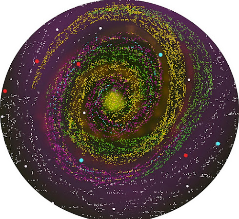 Rainbow spiral (CGI)