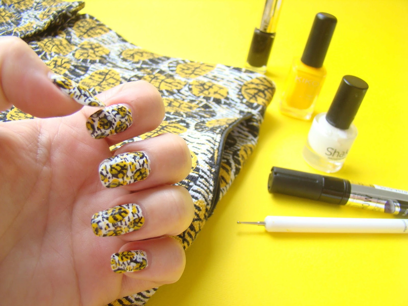 Nail art wax
