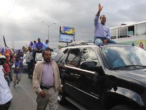 """Kalil Michel, un transfuga y """"traidor"""" recibido como un """"héroe"""" en SDE en marcha de Margarita"""