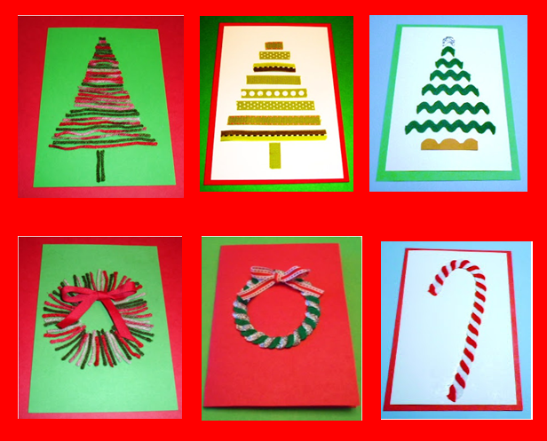 Learning Ideas - Grades K-8: 6 Easy, Fun, Homemade Christmas Cards