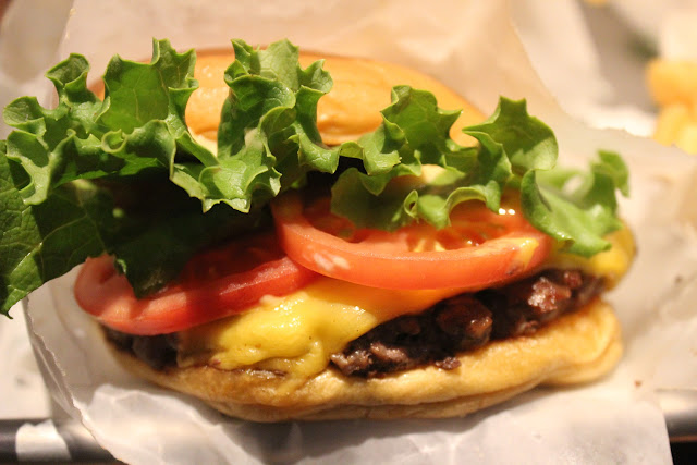ShackBurger at Shake Shack, Chestnut Hill, Mass.