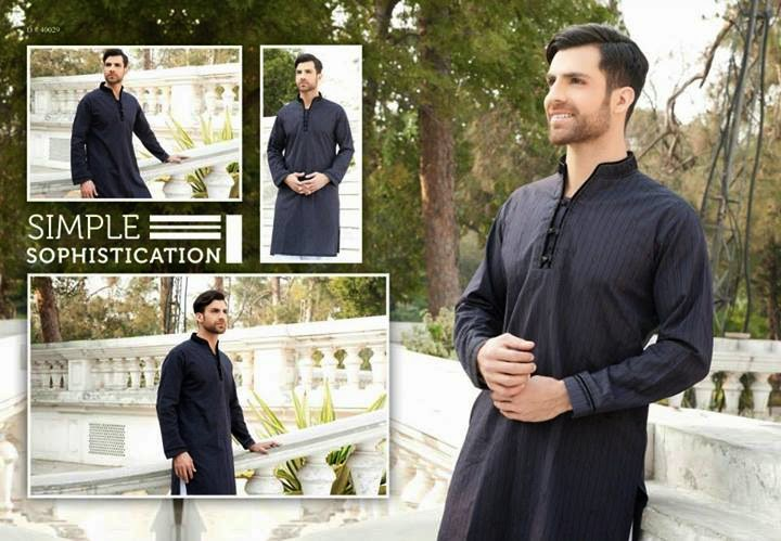 Edenrobe Men's Shalwar Kameez Collection 2014