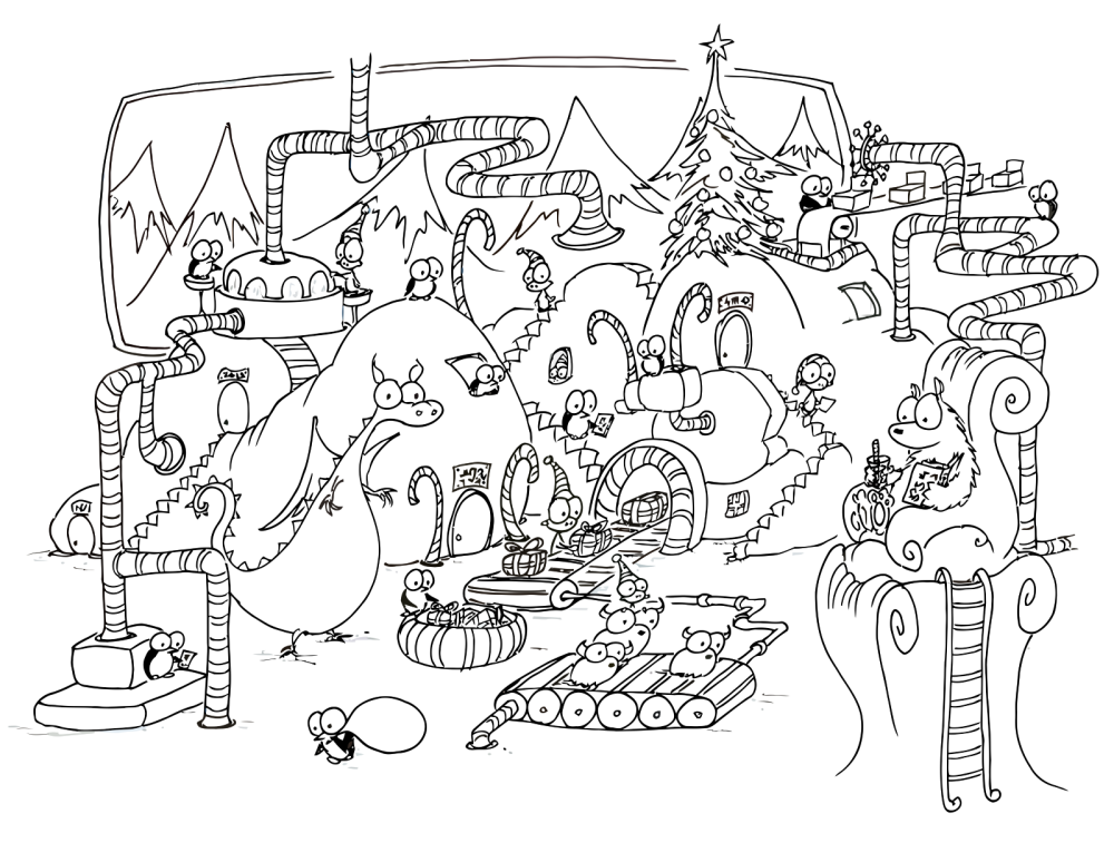 coloring pages christmas presents disney coloring pages
