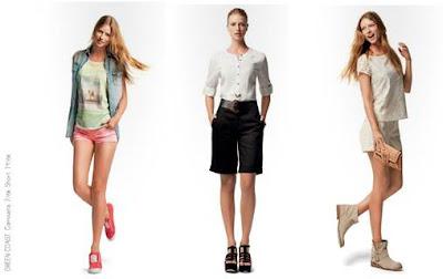 blusa y short moda 2013