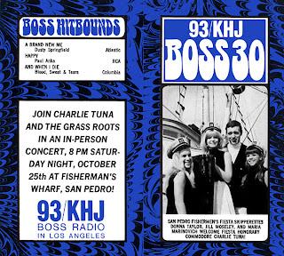 KHJ Boss 30 No. 224 - Charlie Tuna