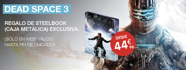 Dead Space 3 con regalo de Steelbox edición exclusiva