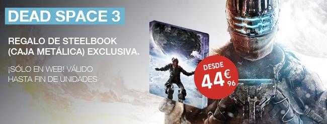 Dead Space 3 con regalo de Steelbox edición exclusiva