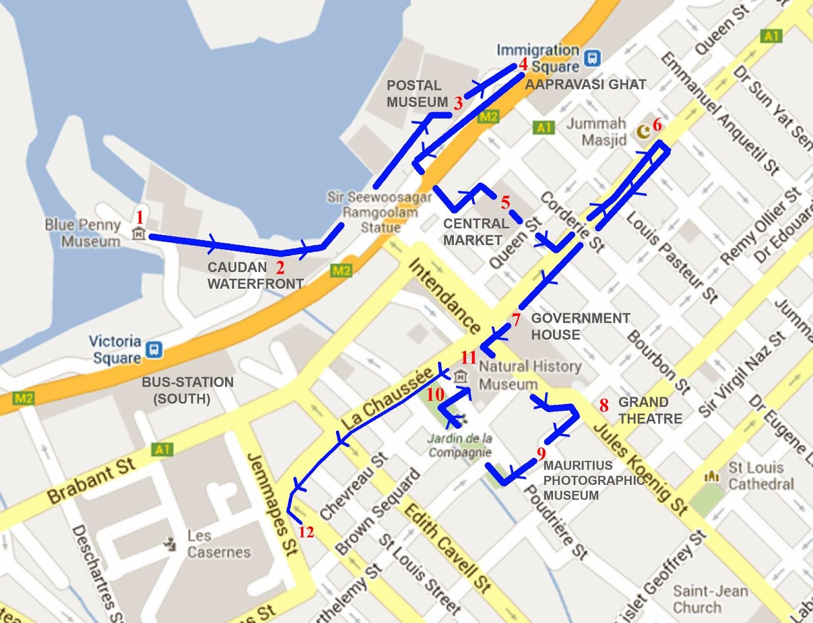 Maintenant La Vie à Lîle Maurice Day Trips In Mauritius - Map mauritius roads