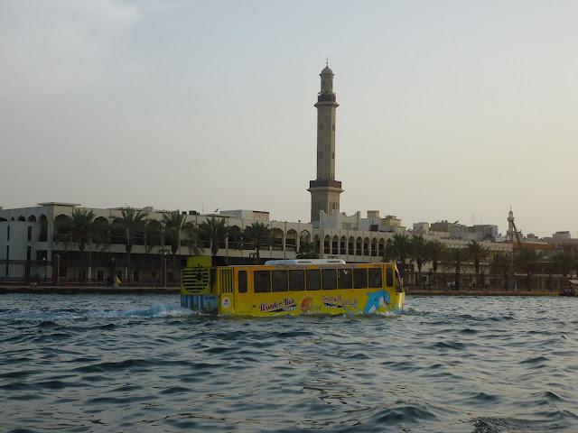 Wonder bus at Dubai Creek