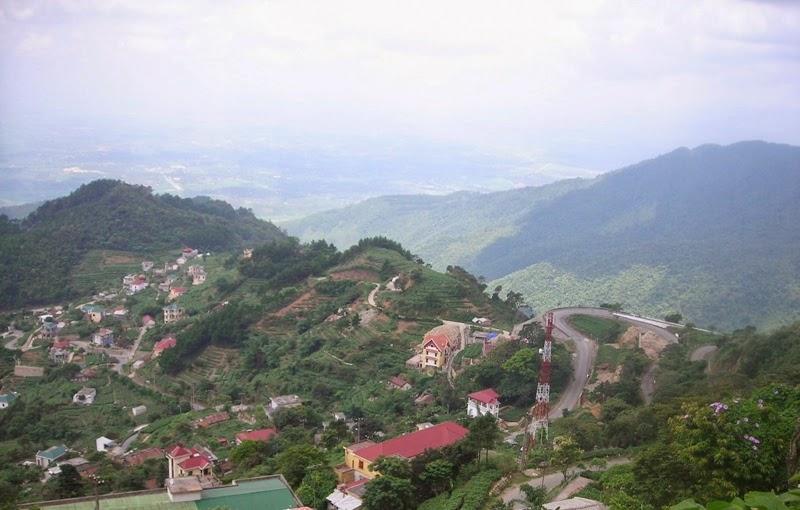 Cho thuê xe đi Tam Đảo Vĩnh Phúc du lịch 2
