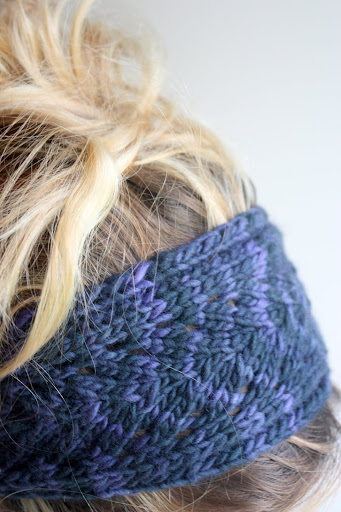 Double Knitting Headband Pattern : LIME RIOT: Panta - Headband or Christmas Panda? Part II